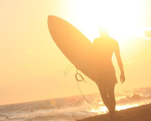 プールや海など水レジャーでの日焼け